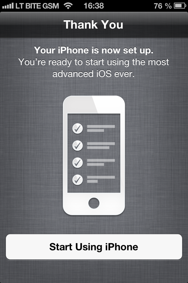 iOS 6.1 atnaujinta