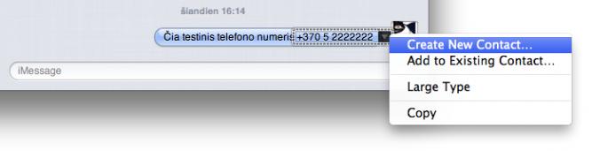 MessagesTelNrSelect
