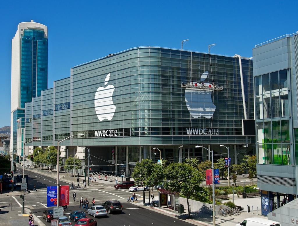 Pasiruošimas WWDC 2012, Moscone West, SF.