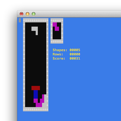 Tetris terminale
