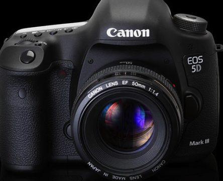 Canon 5D Mark III firmware atnaujinimas