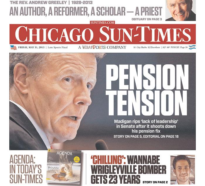 Chicago Sun Times 31-05-2013