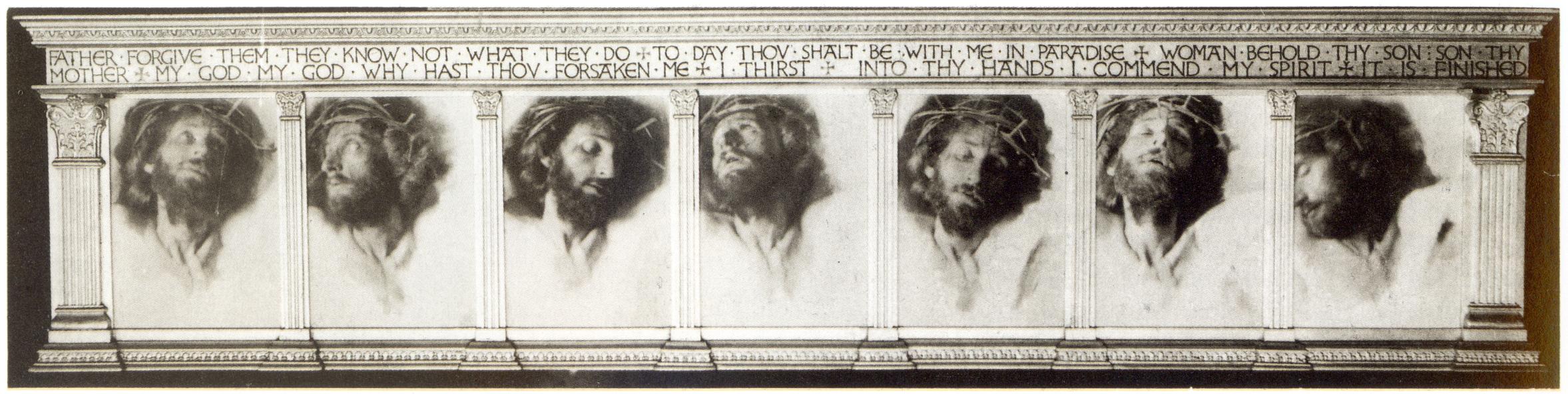 Fred Holland Day: Septyni paskutiniai Kristaus žodžiai (1898)