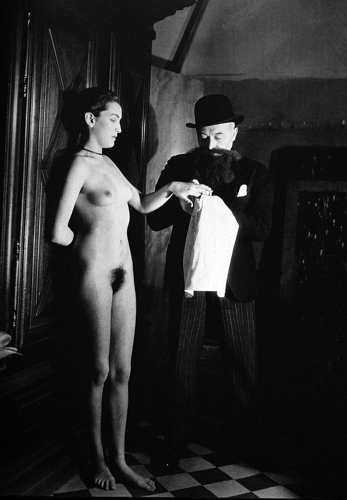 Man Ray: Meret Oppenheim ir Luis Marcousis (1933 m.)