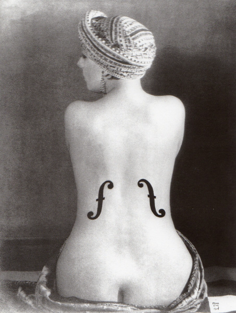 Man-Ray: Ingro smuikas (1924)