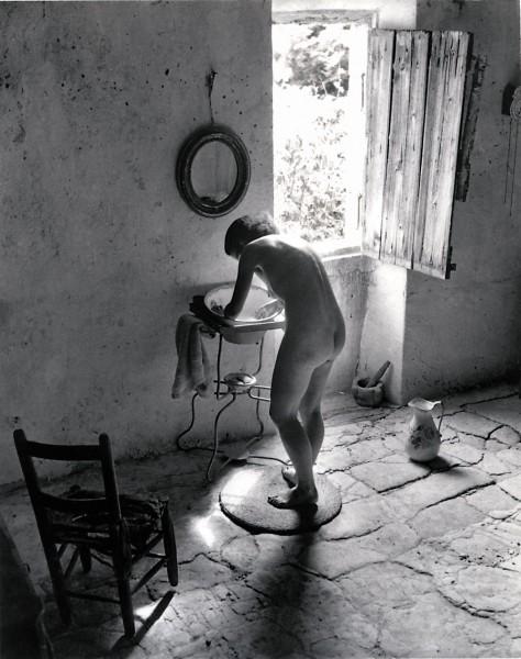 Willy Ronis: Le Nu Provençal Gordes (žmonos aktas), 1949